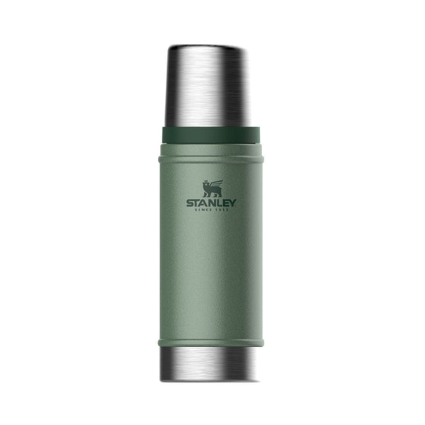 Stanley - CLASSIC VACUUM INSULATED BOTTLE -  0.47L | Hammertone green - Stuntwood