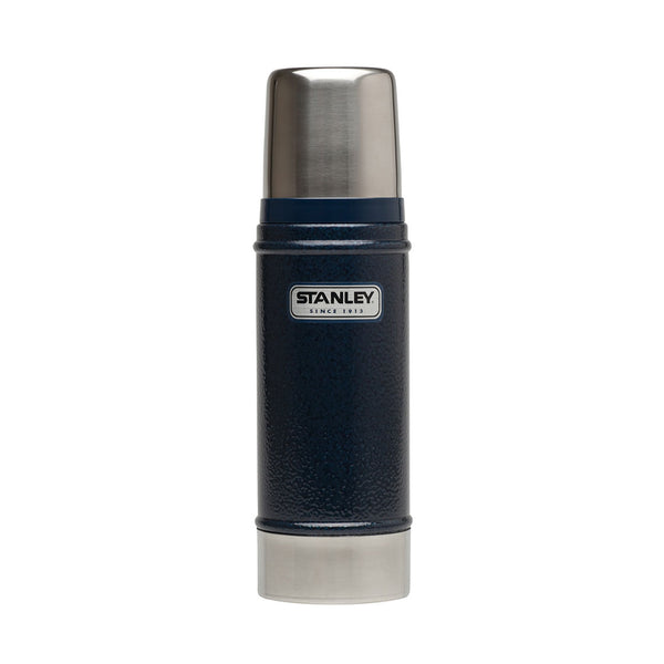 Stanley - CLASSIC VACUUM INSULATED BOTTLE - 473 ML | Hammertone blue - Stuntwood