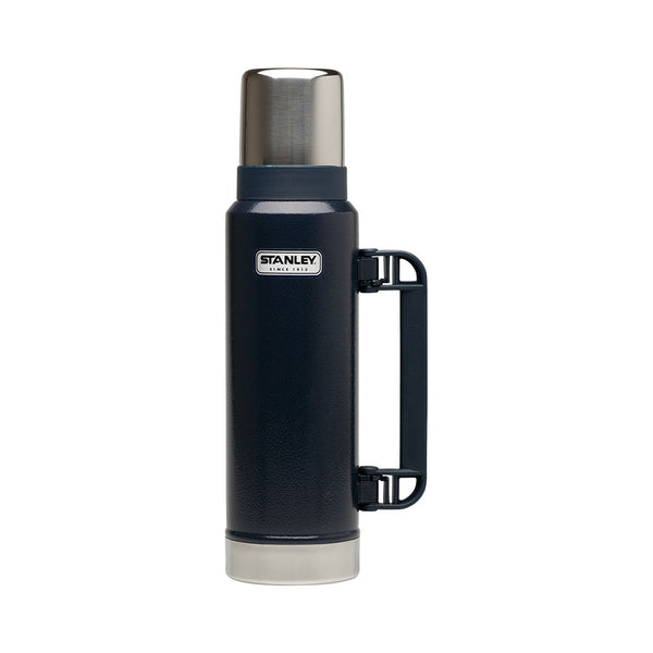 Stanley - CLASSIC VACUUM INSULATED BOTTLE - 1.3L | Hammertone blue - Stuntwood
