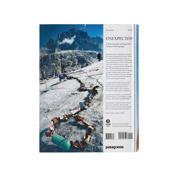 Patagonia  - Unexpected: 30 Years Of Patagonia Catalog Photography  - (Hardcover) - Stuntwood
