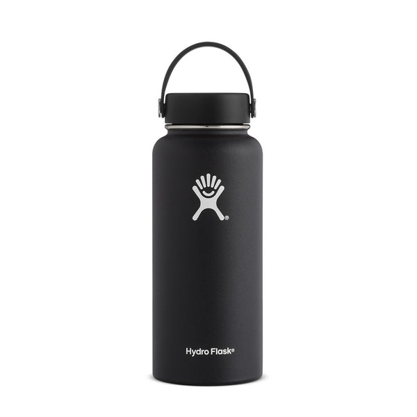 Hydroflask - Wide Mouth 32oz (946ml) - Black