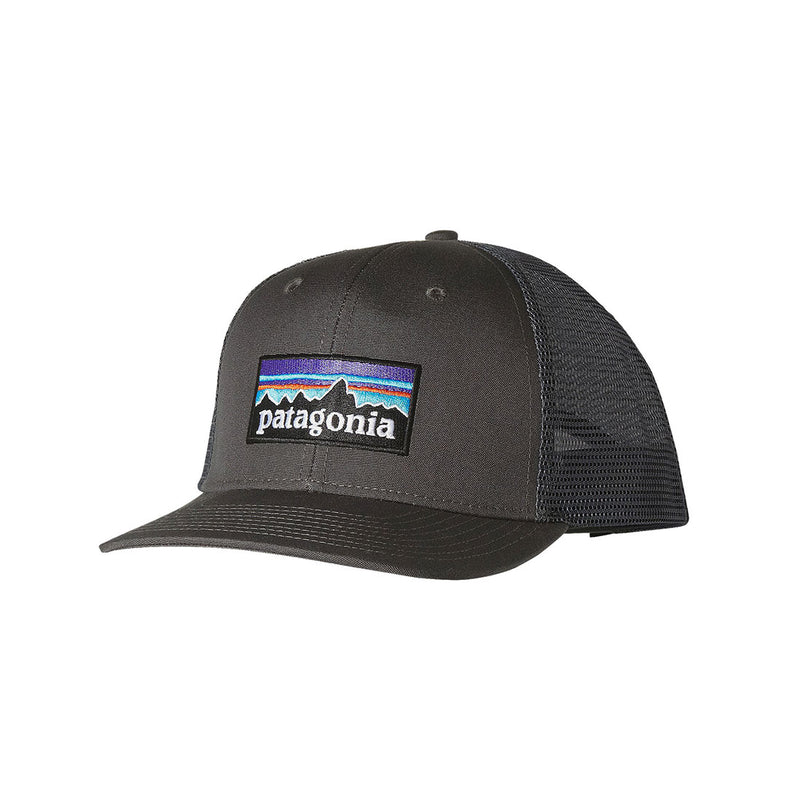 Patagonia - P-6 Logo trucker - Forge grey - Stuntwood