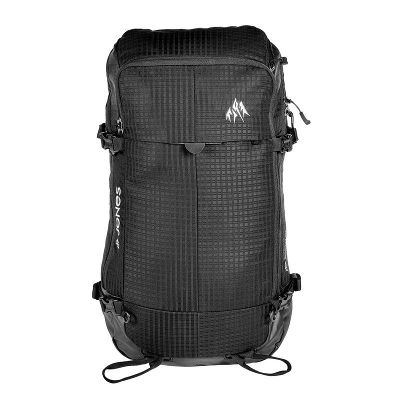 Jones Snowboards - DSCNT Backpack - 25L Black - Stuntwood