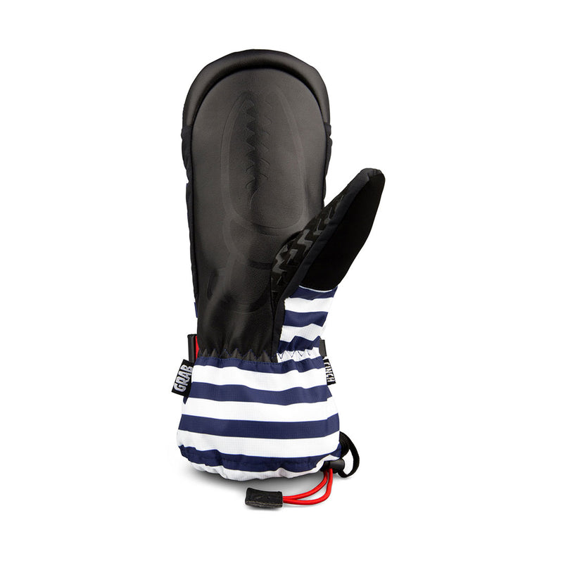 Crab Grab - Cinch Womens - Navy Stripe - Stuntwood