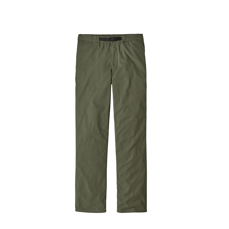 Patagonia - M's Organic Cotton LW Gi Pants - Industrial Green - Stuntwood