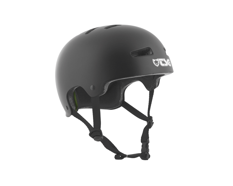 TSG - Evolution Helmet - Solid Black - Stuntwood