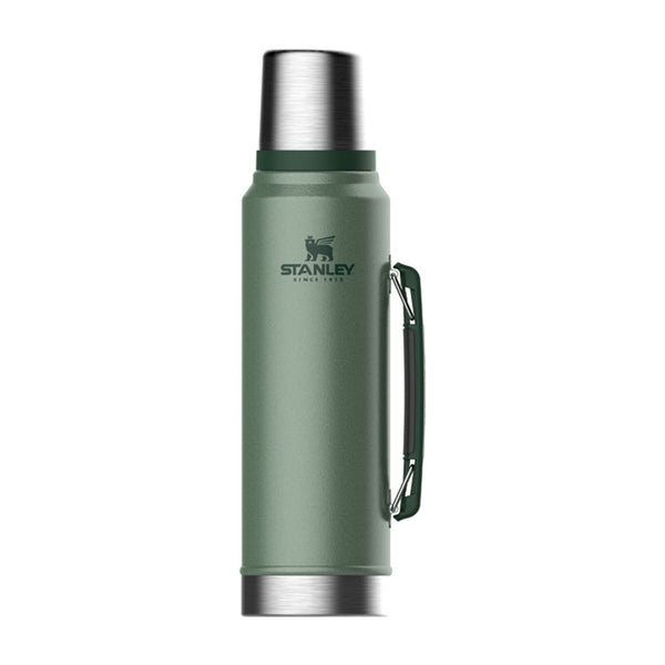 Stanley - Classic Vacuum Bottle -Hammertone Green - 1L - Stuntwood