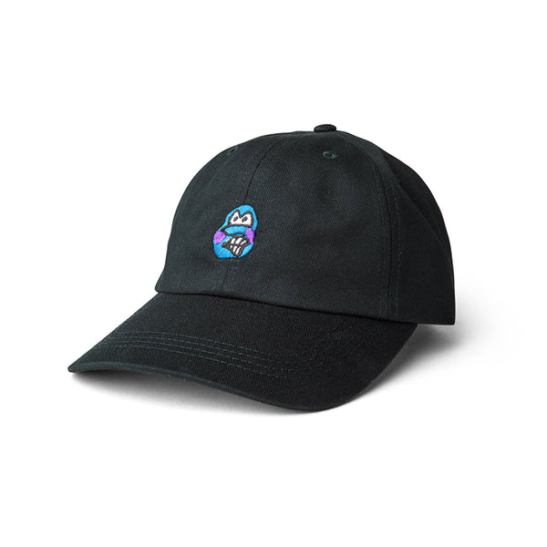 Polar Skate Co. - Dance Face Cap - Black - Stuntwood