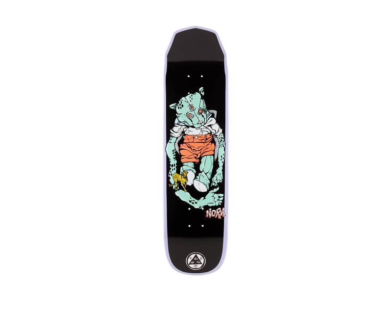 Welcome Skateboards - Teddy Nora Pro 8.125 - Wicked Princess Lavender dip