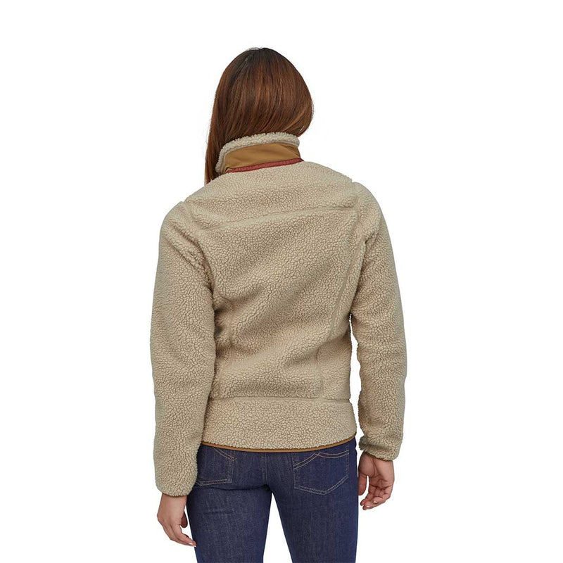Patagonia - W's Classic Retro-X Jacket - Natural w/ Nest Brown - Stuntwood