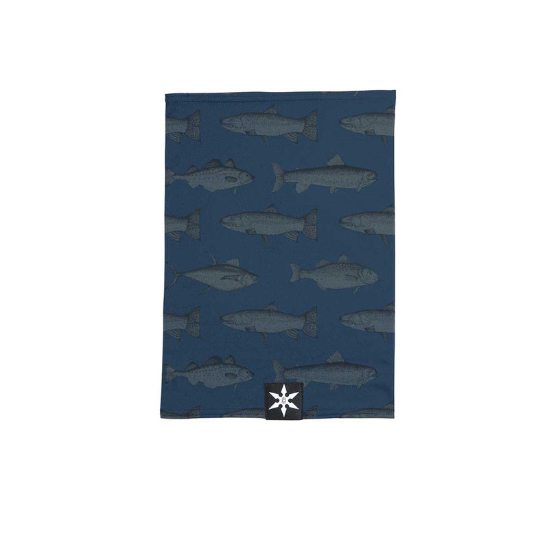 Airblaster - Ninja Turtleneck  - Navy Fish