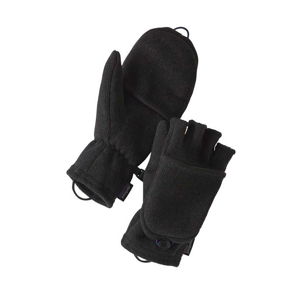 Patagonia - Better Sweater Glove - Black - Stuntwood