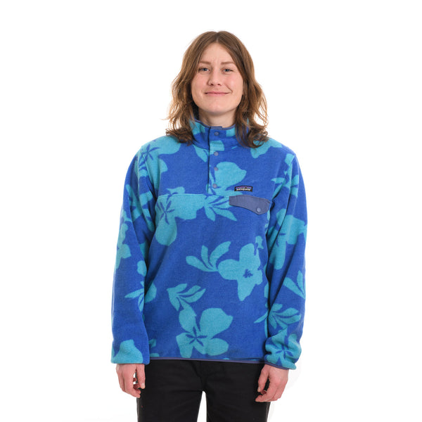 Patagonia - W's LW Synch Snap-T P/O - Kalani Big: Float Blue - Stuntwood