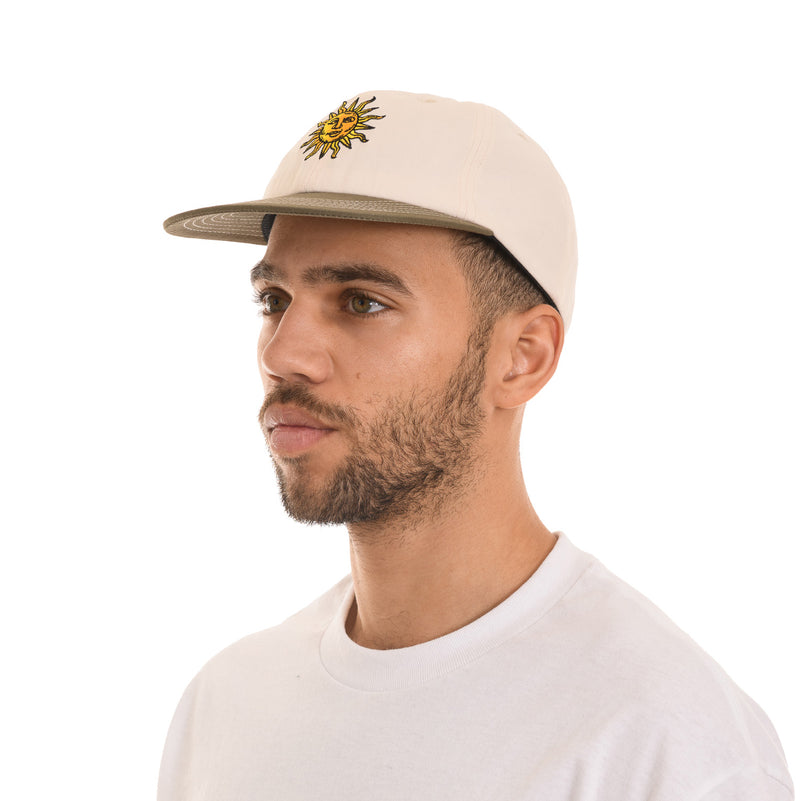 Butter Goods - Sun 6 Panel - Natural / Sage - Stuntwood