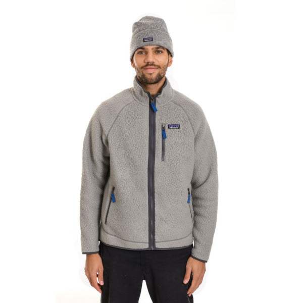 Patagonia - M's Retro Pile Jacket - Feather Grey - Stuntwood
