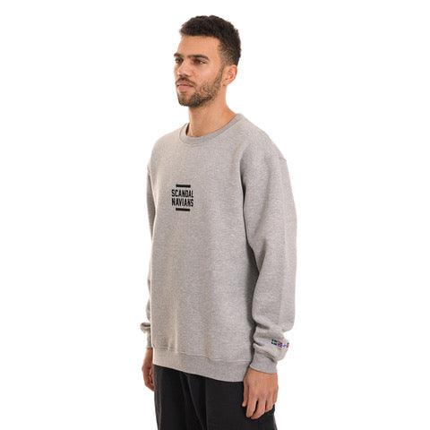 Scandalnavians - Crewneck - Heather Grey - Stuntwood