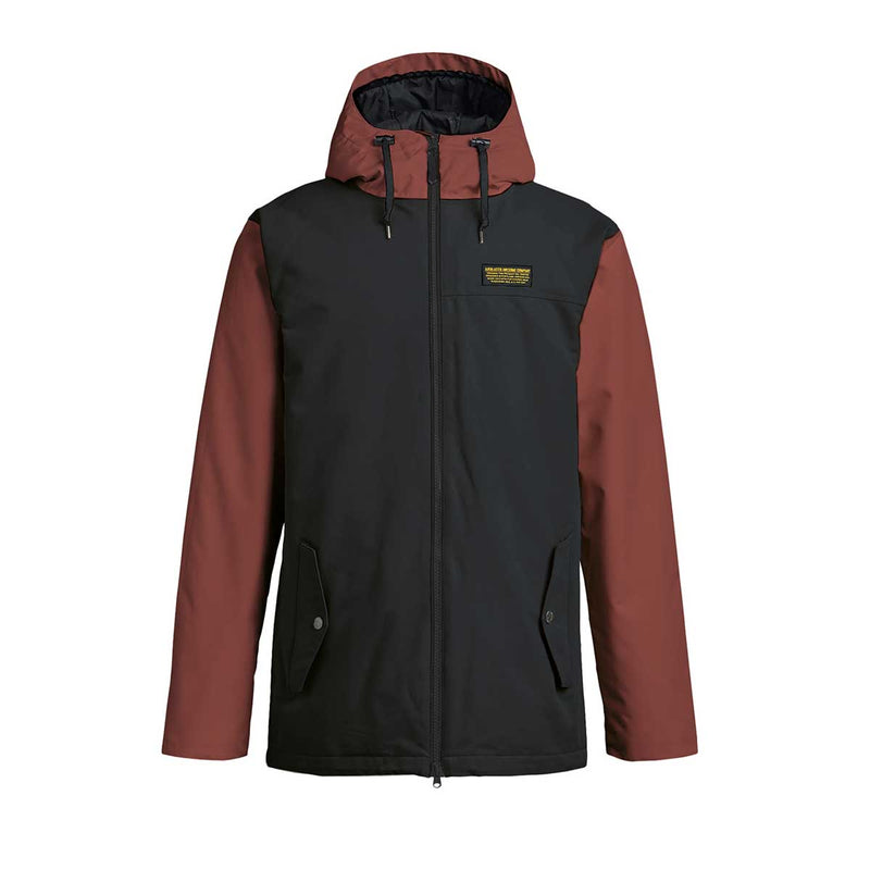 Airblaster - M's Toaster Jacket Sample - Black/Oxblood - Stuntwood