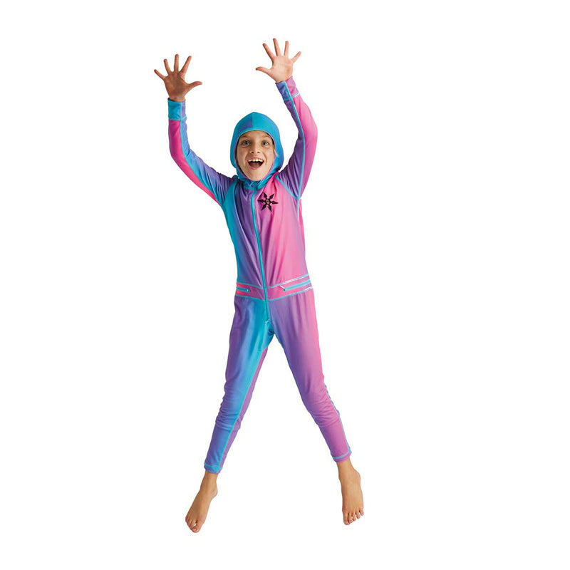 Airblaster - Youth Ninja Suit Sample - Pink/Purple - Stuntwood