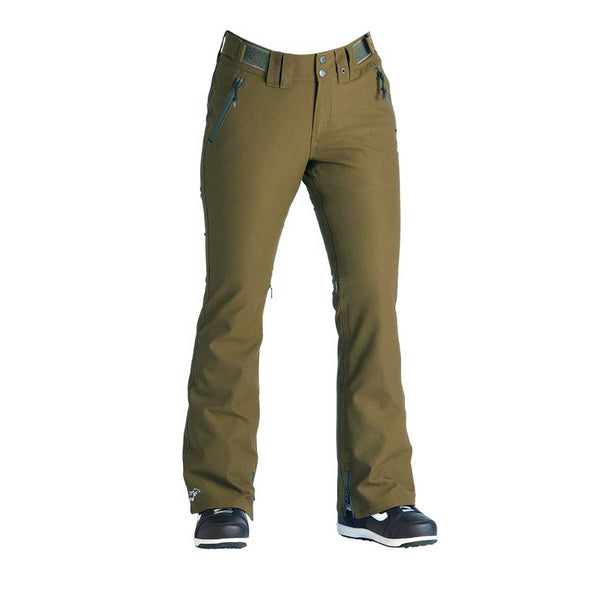 Airblaster - W's Stretch Curve Pant Sample - Olive - Stuntwood