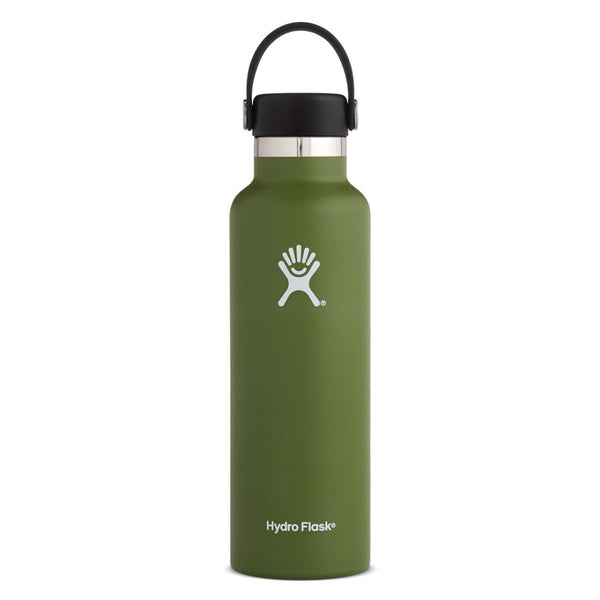 Hydroflask - Std Mouth Flex 21oz (621ml) - Olive