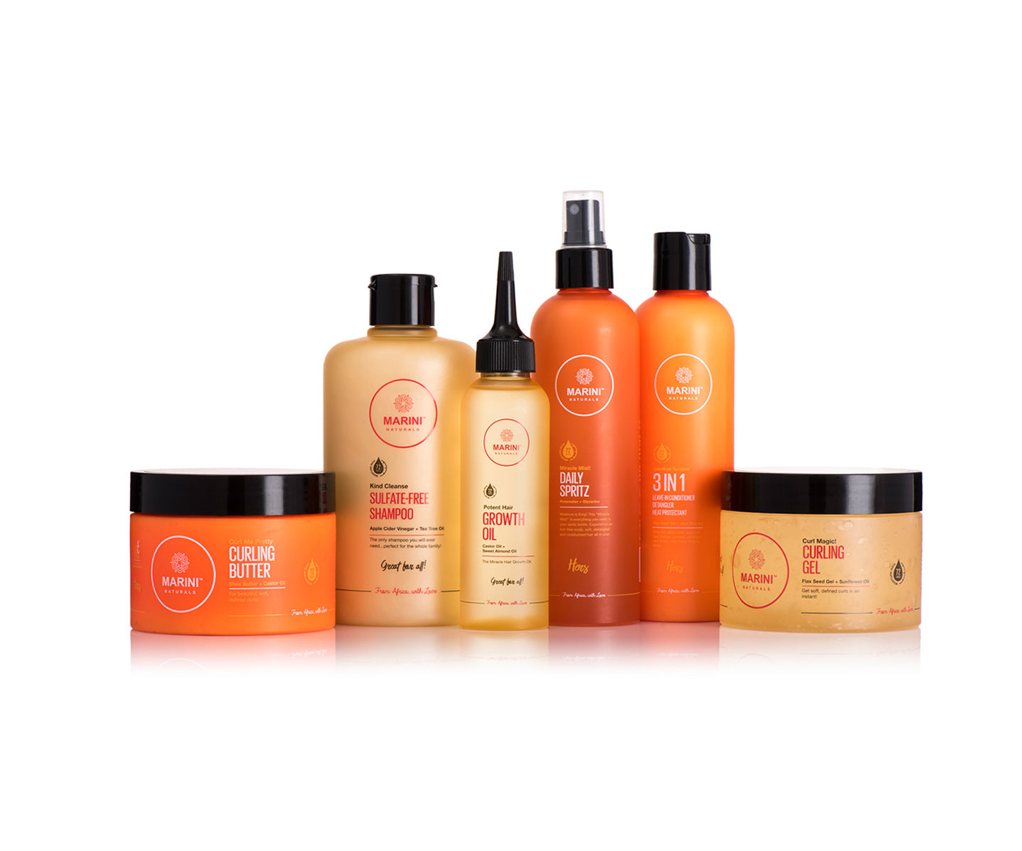 Marini Naturals New & Improved Collection