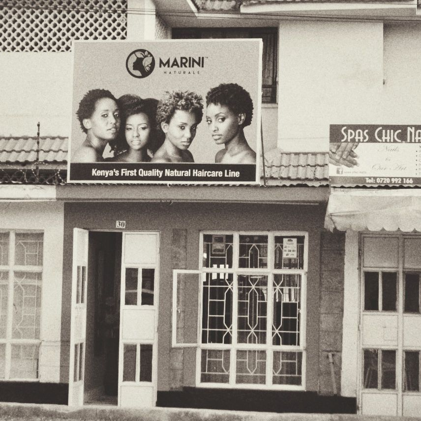 Marini's First Shop in Kilimani - Nairobi, Kenya.