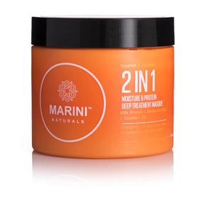 """NOURISH & FLOURISH"" 2 IN 1 MOISTURE & PROTEIN DEEP TREATMENT MASQUE"