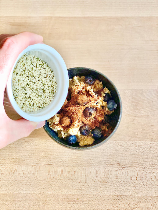 A Healthy Quinoa Breakfast