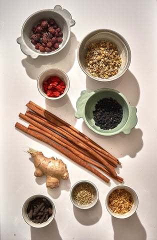 Our botanical blends or herbal infusions are the foundation for our botanical beverages. Assisting the body with preventing, managing, and reversing chronic disease thanks to co-founder Dr. Susan Blum, a pioneer in functional medicine.