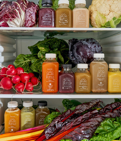 a full fridge of organic vegetables and fruits will help you prepare for your cleanse, calming inflammation, boosting immunity and detoxifying your system. Preparing sets you up for success on your cleanse and makes it easier!