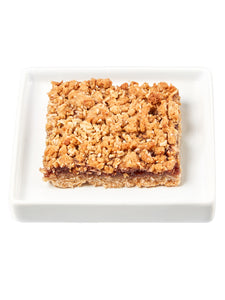 Raspberry Oat Bar