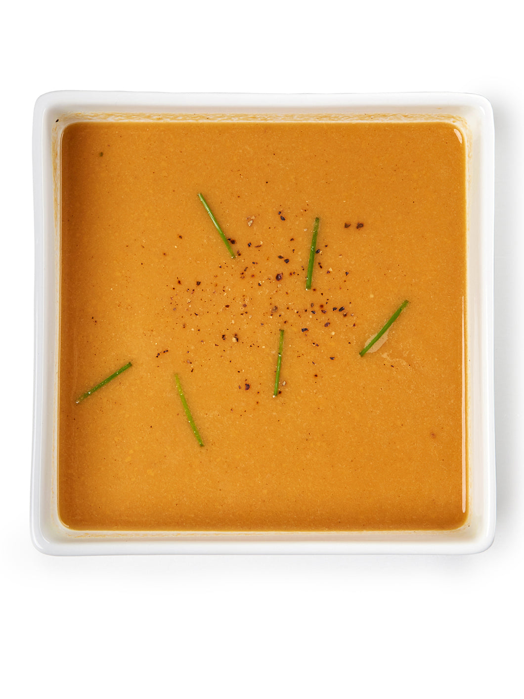 Red Lentil-Sweet Potato Bisque