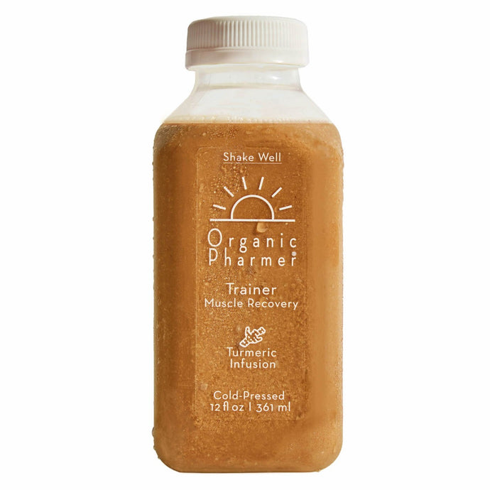 trainer is our after workout protein shake filled with organic ingredients free of gluten, dairy free, corn free, soy free, egg free. Great for muscle recovery and anti-inflammation with our turmeric, cardamom, rosemary, cinnamon, and black pepper botanical infusion