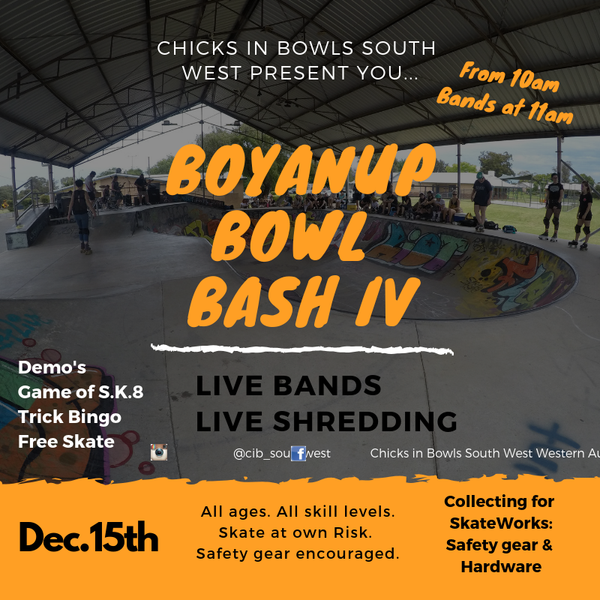 Boyanup Bowl Bash 1V