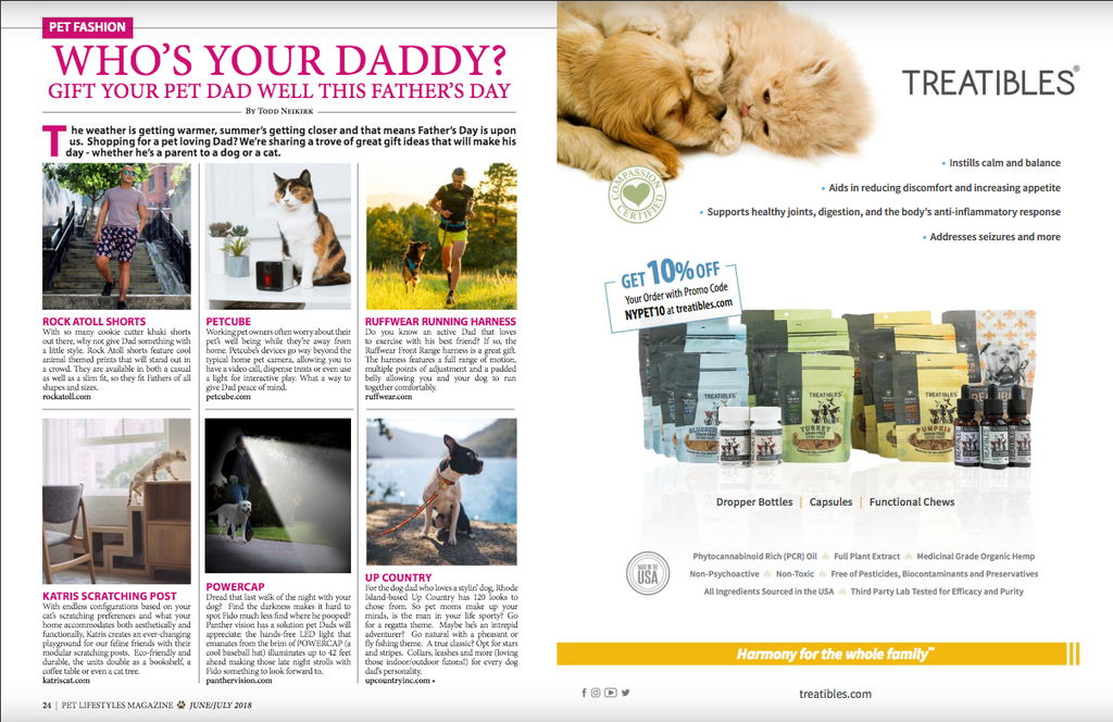 Rock Atoll x Pet Lifestyle Magazine
