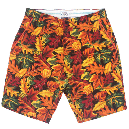 Autumn Fall Leaves All Over Print Men's Shorts