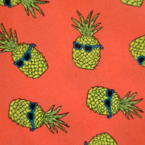Bold Colourful Fruit Print Cotton Boxer Shorts. Men's Novelty Print Boxer Shorts