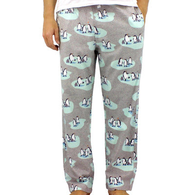 Penguin Pajama Pants For Men. New Men's Penguin Lounge Pants