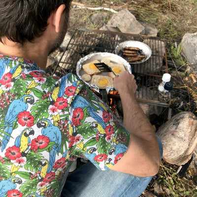 Parrot T-Shirt For Men. Men's Parrot Shirt. Mens Bird Shirt