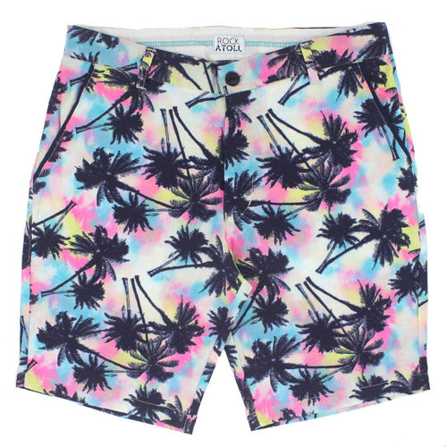 Rock Atoll Bold Colorful Print Men's Shorts Preppy Fit