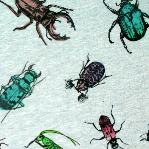 Bug Insect Creepy Crawlies All Over Print Short Sleeve Tees