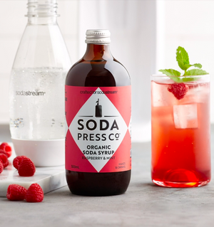SODA PRESS RASPBERRY & MINT