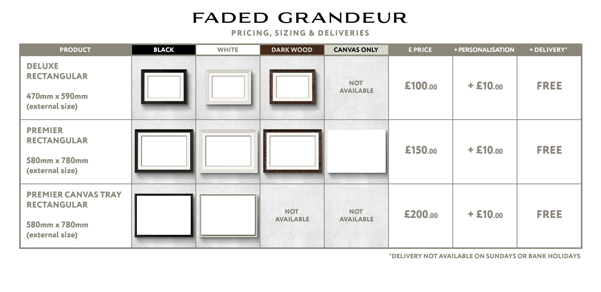 CHESHIRE - Faded Grandeur