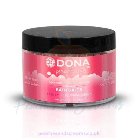 DONA EROTIC BATH SALTS IN FLIRTY BLUSHING BERRY