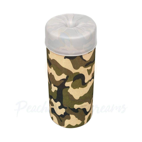 Discreet Camo Travel Pocket Pussy with 5 Disposable Sleeves