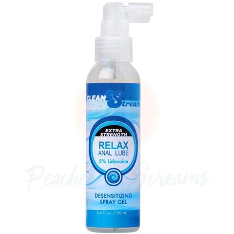 Extra Strength Relax Anal Sex Lube with Lidocaine, 4.4oz