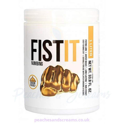FIST IT NUMBING WATER-BASED ANAL SEX LUBE, 1L