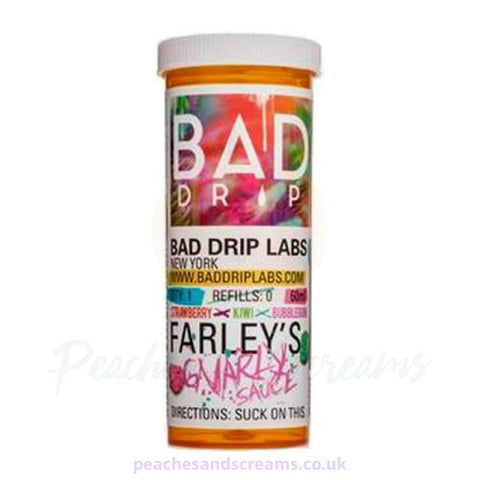 Farleys Gnarly Sauce Short Fill E-Liquid 60ml By Bad Drip Vape Juice
