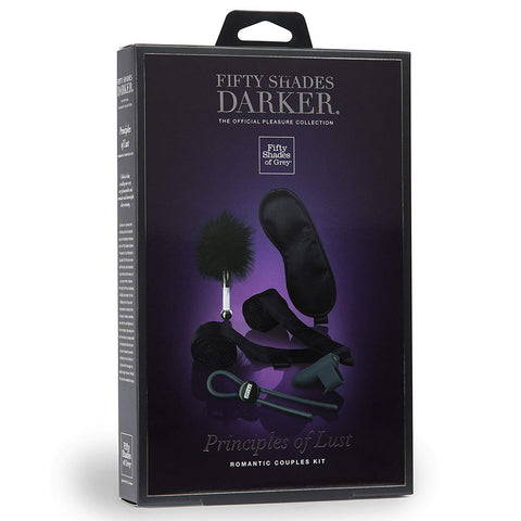 Fifty Shades Darker Principles of Lust Romantic Couples BDSM Bondage Kit