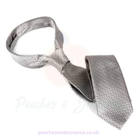 Fifty Shades of Grey Christian Grey Silver Tie Restraint